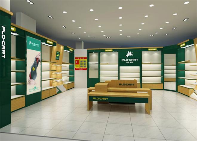 品牌鞋店展示柜