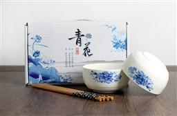 陶瓷青花碗筷套裝2碗筷裝