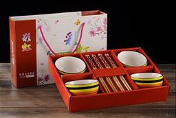 彩虹碗筷套装