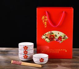 印花碗筷套裝