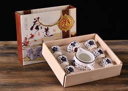 印花茶壶套装