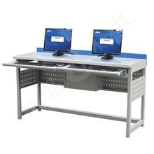 钢制学生电脑桌,学校机房电脑桌 DNZ-3300