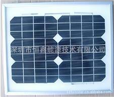 10W 18V monocrystalline silicon glass component