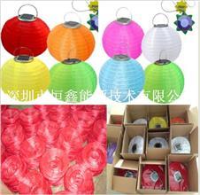 防水户外太阳能灯笼 光控节能  LED装饰灯笼 民间工艺礼品灯笼