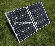 2015恒鑫新产品可折叠太阳能电池板 60w太阳能折叠板