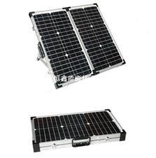 绿色可再生产品可折叠太阳能电池板 100W太阳能折叠板