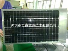 透光度强耐蚀200w可弯曲单晶太阳能柔性板