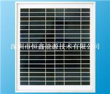 物美价廉绿色产品15w单晶太阳能板  太阳能提示灯
