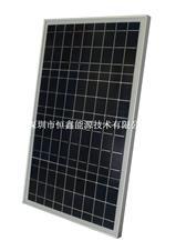 款式齐全绿色产品 30w单晶太阳能板 太阳能警示灯