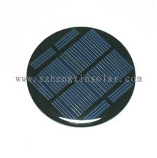 单晶、多晶太阳能封胶板  5.5v圆形太阳能滴胶板