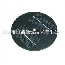 圆形太阳能电池板  直径160mm太阳能滴胶板