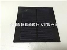 现货105*105mm黑色底单晶玻璃板  可运用于太阳能路灯、庭院灯等