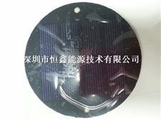 可定制圆形太阳能电池板 单晶多晶太阳能组件