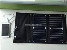 高效进口电池片  sunpower太阳能可折叠充电包