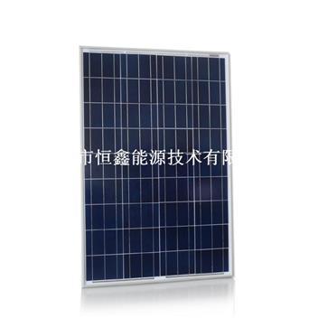 厂家批发 高效能太阳能产品 110w多晶太阳能板   运用于太阳能灌溉系统