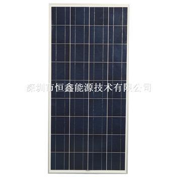 热销产品 150w 多晶太阳能板运用于离网系统