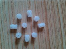 四頭塑料蝸桿/塑膠蝸桿/塑料蝸桿開模及注塑加工