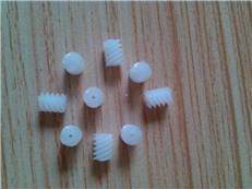玩具配件  馬達軸塑膠蝸桿