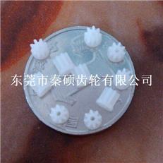塑料馬達齒輪  非標齒輪  0.3*8T塑膠齒輪