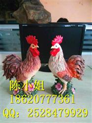 树脂公鸡  树脂动物 树脂装饰品 室内摆件