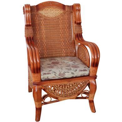 简约花带椅扶手椅子