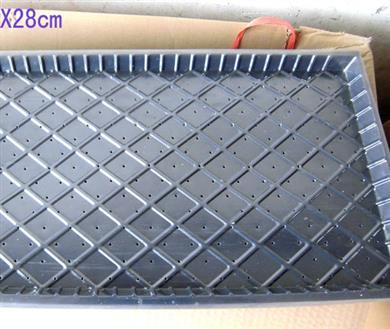惠和九寸平式秧盘厂家直销抗摔打耐对折