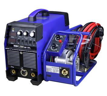 MIG280GF 280A MIG IGBT separated DC welding machine welder with CE Mark