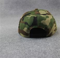 厂家定制爆款热销迷彩帽子平沿棒球帽颜色图案可定制