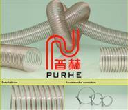 0.4mm壁厚耐磨吸尘PU钢丝管