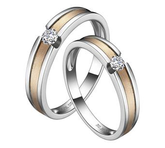 Love Agreement three _18K lovers ring winnings