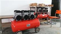 勁豹SLH120靜音無油空壓機