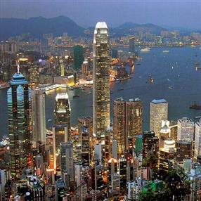 香港城市航拍