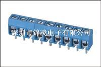 螺钉式PCB接线端子-JL301,间距5.00mm,CE认证,UL证书:E484895