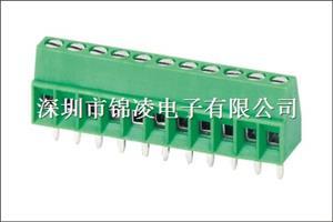 螺钉式PCB接线端子-JL308,间距2.54mm,CE认证,UL证书:E484895