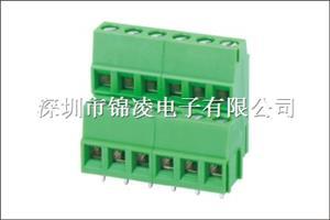 螺钉式PCB接线端子-JL500A,间距5.00/5.08mm,CE认证,UL证书:E484895