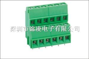 螺钉式PCB接线端子-JL500B,间距5.00/5.08mm,CE认证,UL证书:E484895
