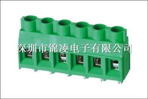 螺钉式PCB接线端子-JL636,间距6.35mm,CE认证,UL证书:E484895