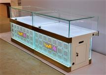 新款聯通手機玻璃展柜