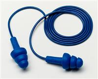 3M 340-4007含可探测金属圣诞树型带线耳塞防噪音睡眠学习用