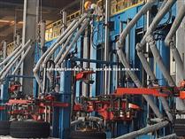 轮胎厂硫化机节能热保护