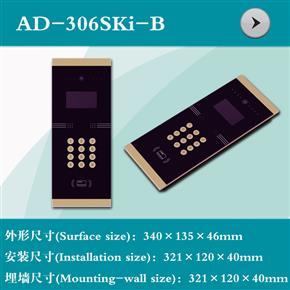 AD-306SKi-B  12864中文点阵显示楼宇外壳