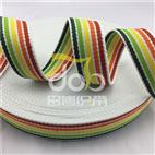 涤棉间色织带