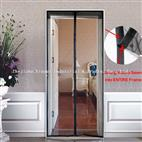 Magic stick Magnetic Anti Mosquito Mesh Screen Door curtain