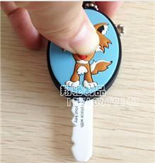 专业生产pvc软胶钥匙套 日本公仔滴胶钥匙套 卡通钥匙套 可来样定