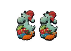 Cheung Chi supply Christmas keychain, goat keychain, welcome to order
