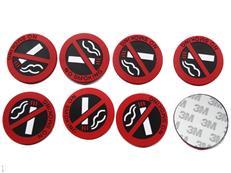 PVC warning stickers, advertising Smoking stickers , 3M adhesive stickers Smoking