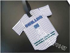衬衫造型行李牌 pvc软胶登机牌 简易行李牌 明星 行李识别牌
