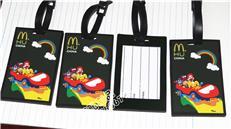 美国总动员行李牌 pvc软胶登机牌 麦当劳行李牌 明星登机牌 身份