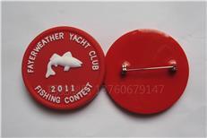 专业生产pvc软胶胸章 活动胸章 广告宣传胸章来图定做 平面胸章