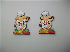 供应卡通冰箱贴 动物造型冰箱贴 小羊冰箱贴 PVC软磁冰箱贴